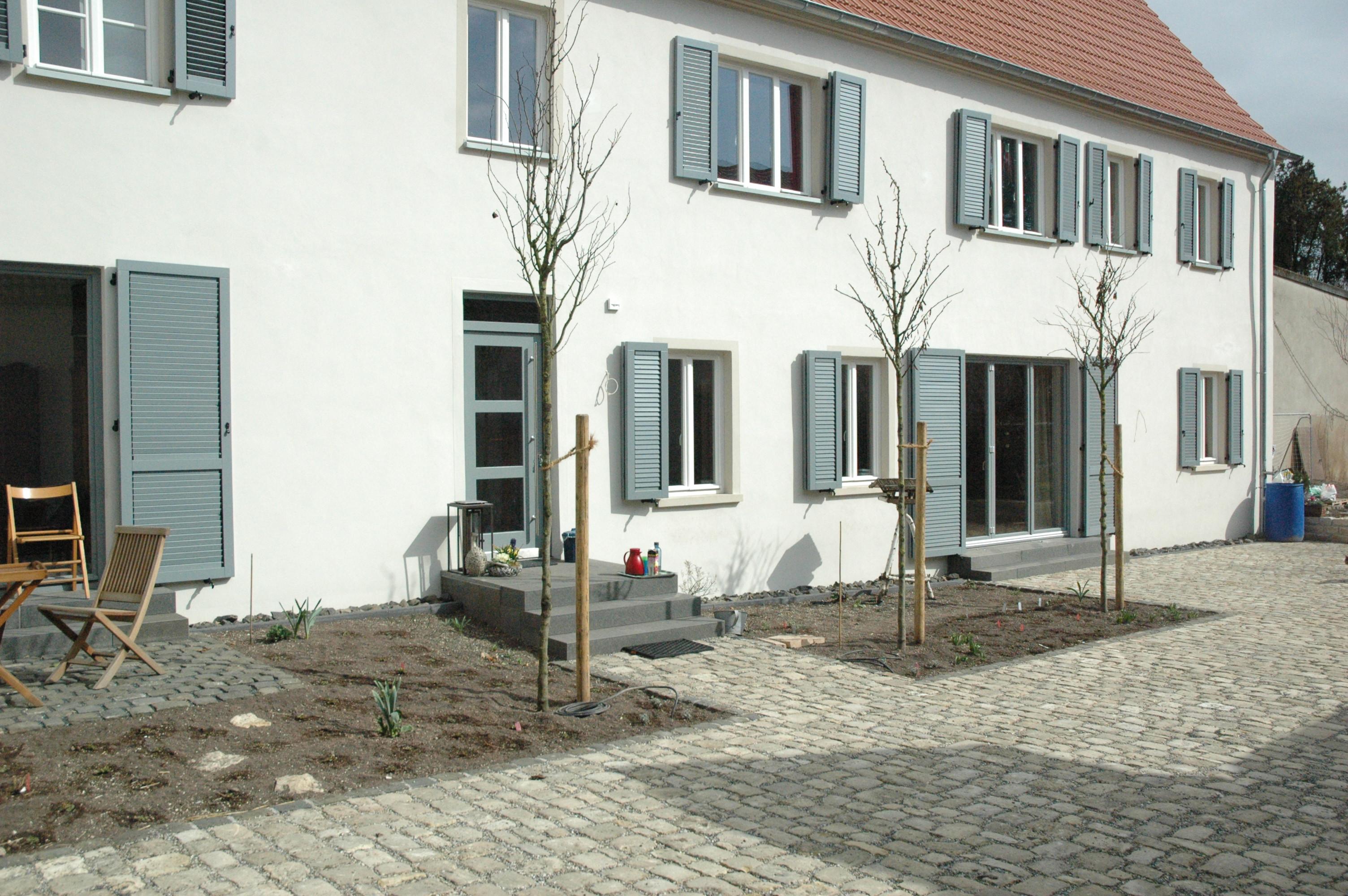 Sanierungspreis 16 in der Kategorie Bauherr - Weingut in Mainz-Laubenheim, Außenansicht