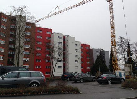 Sanierungspreis 15 in der Kategorie Metall - Fassadensanierung WEG Linzgaustr.