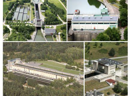 Gewinner des Sanierungspreises 15 in der Kategorie Flachdach - Dachsanierung der Schleusendächer am Main-Donau-Kanal - Schleuse Hilpoltstein, Ansicht