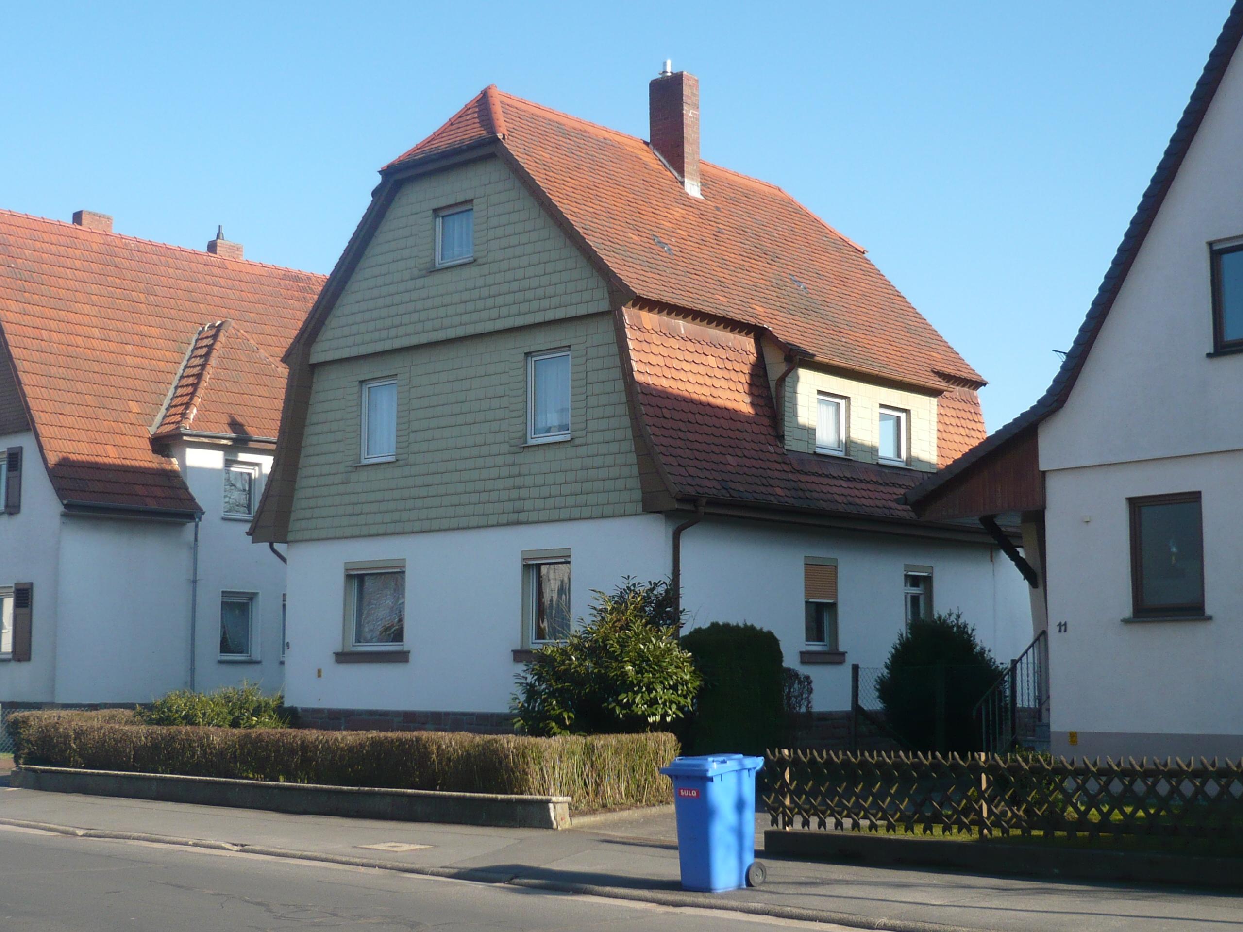 Altes Haus im neuen Glanz