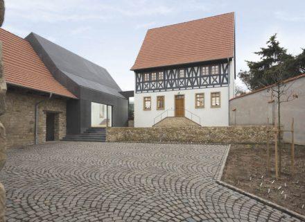 Sanierungspreis 16 in der Kategorie Holz - Umbau und Sanierung einer Hofreite in Rheinhessen, Frontansicht