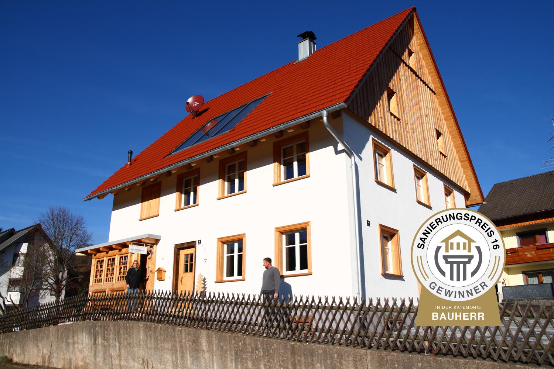 Gewinner - Sanierungspreis 16 - Uhrmacherhüsli - Katja May