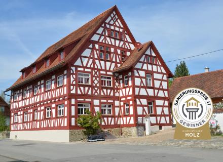 Gewinner - Sanierungspreis 16 - Holz - Holzbau Schmäh