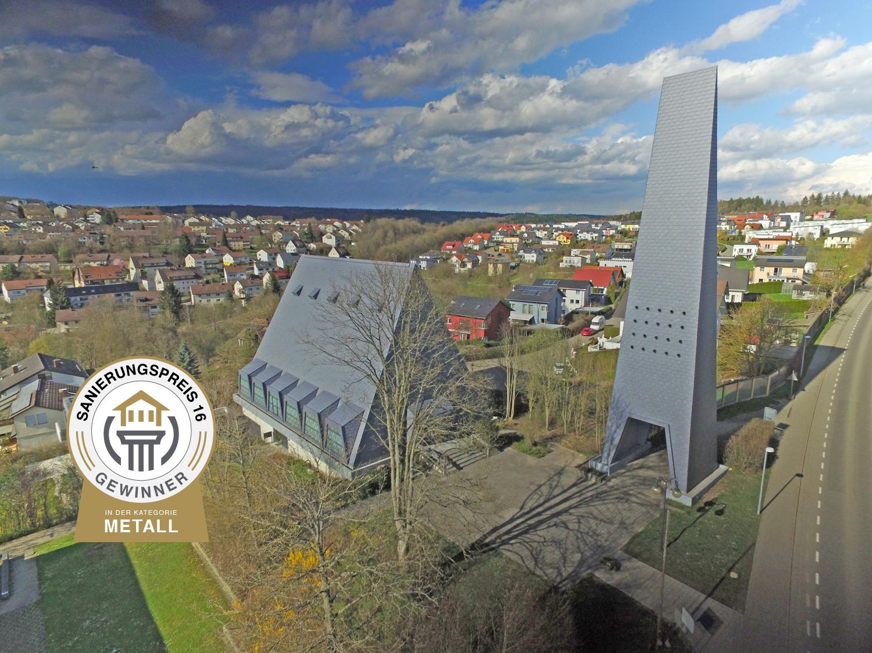 Sanierungspreis 16 - Metall - Burk Metallbau - Kreuzkirche Sigmaringen
