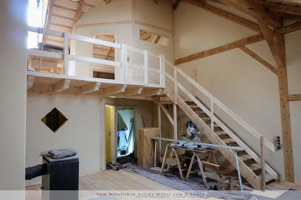 sanierung und ausbau eines ehemaligen scheunendachs mit